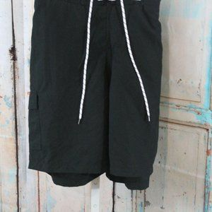 GOODFELLOW AND CO MENS BLACK SWIM SHORTS XL NEW